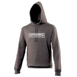 Listooder Hoodie Adults - Charcoal 2018